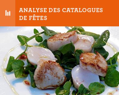 analyse catalogues de fêtes - FSV