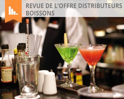 Revue de l'offre distributeurs boissons