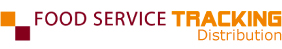 Logo Food Service Tracking Distribution