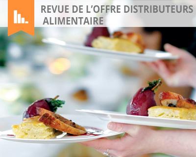 Revue de l'offre distributeurs alimentaire
