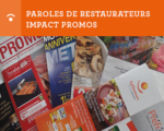 paroles de restaurateurs - impact promos