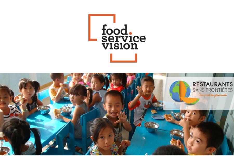 Food Service Vision court en faveur de Restaurants Sans Frontières