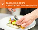 Paroles de chefs gastronomiques france et monde - FSV