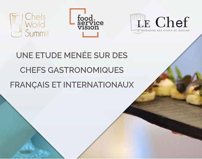 Chefs Gastronomiques France et Monde : chiffres clés