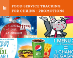 food service tracking for chains - promotions - FSV