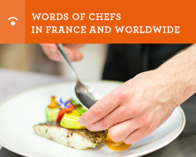 words of chef in france and worldwide- FSV